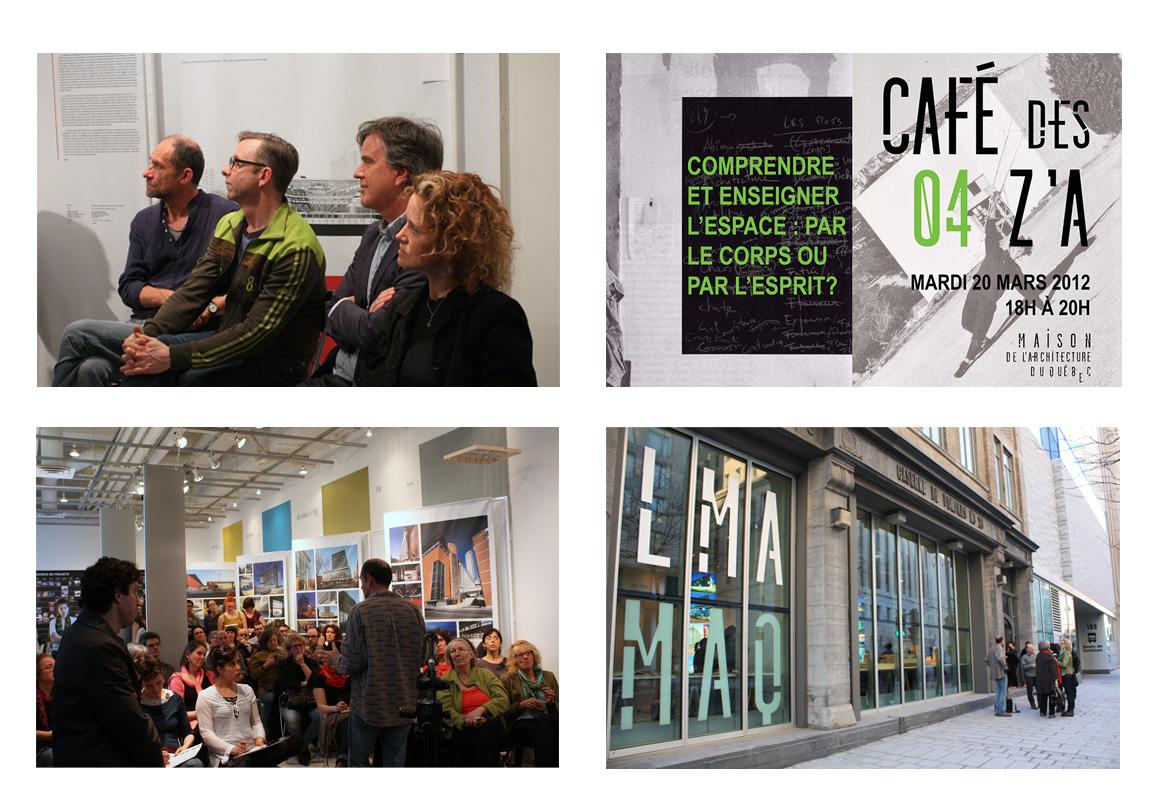 Café des Z'A 4e – Comprendre et enseigner l'architecture : par le corps ou par l'esprit ?