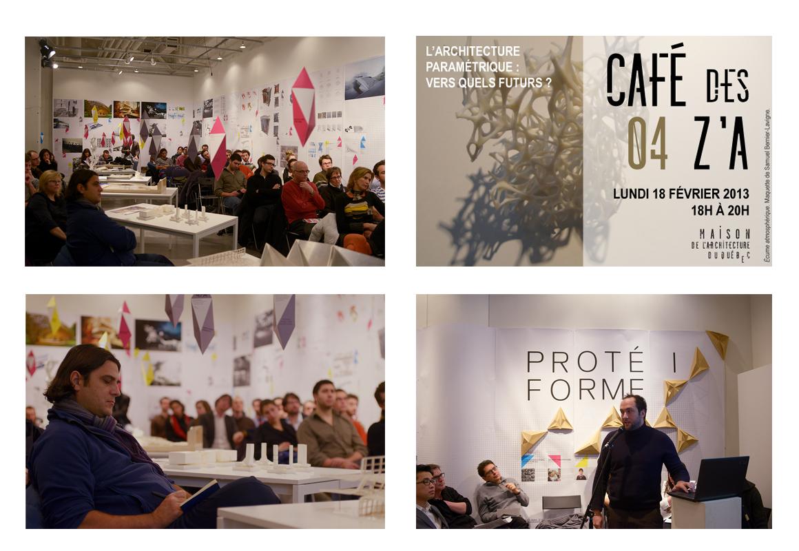 Café des Z'A 9e – L'architecture paramétrique : vers quels futurs ?