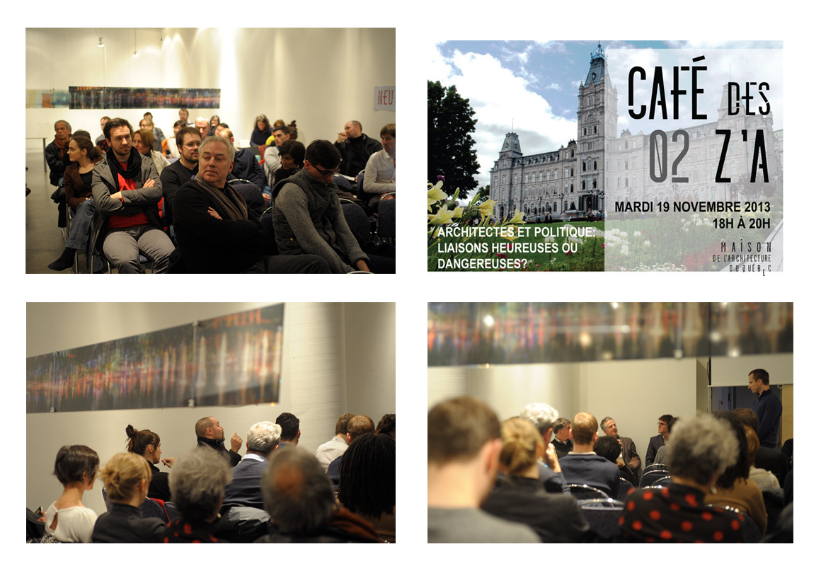 Café des Z'A 11e – Architectes et politique : liaisons heureuses ou dangereuses ?