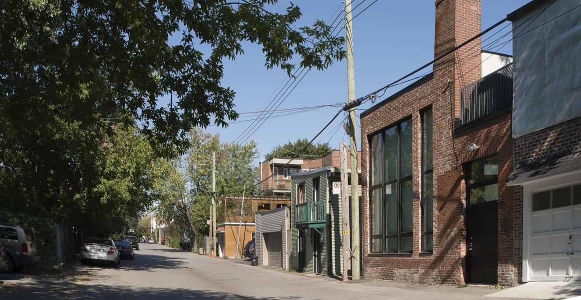 Montréal côté ruelle