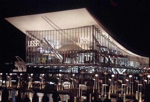 Le pavillon russe d'expo 67 | Fabien Bellat