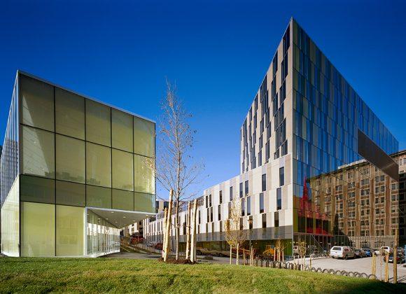 Visite Archifête 1/4   Campus et vie étudiante : du Complexe des sciences à la Résidence Edison